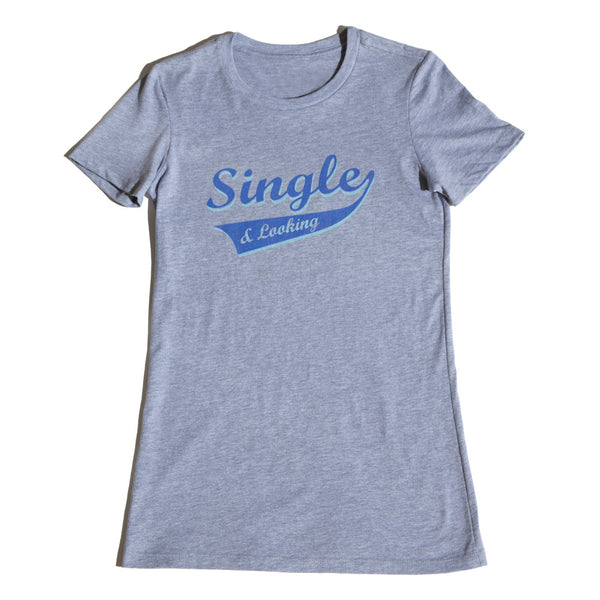 Women's Sporty Tee - Heather Grey