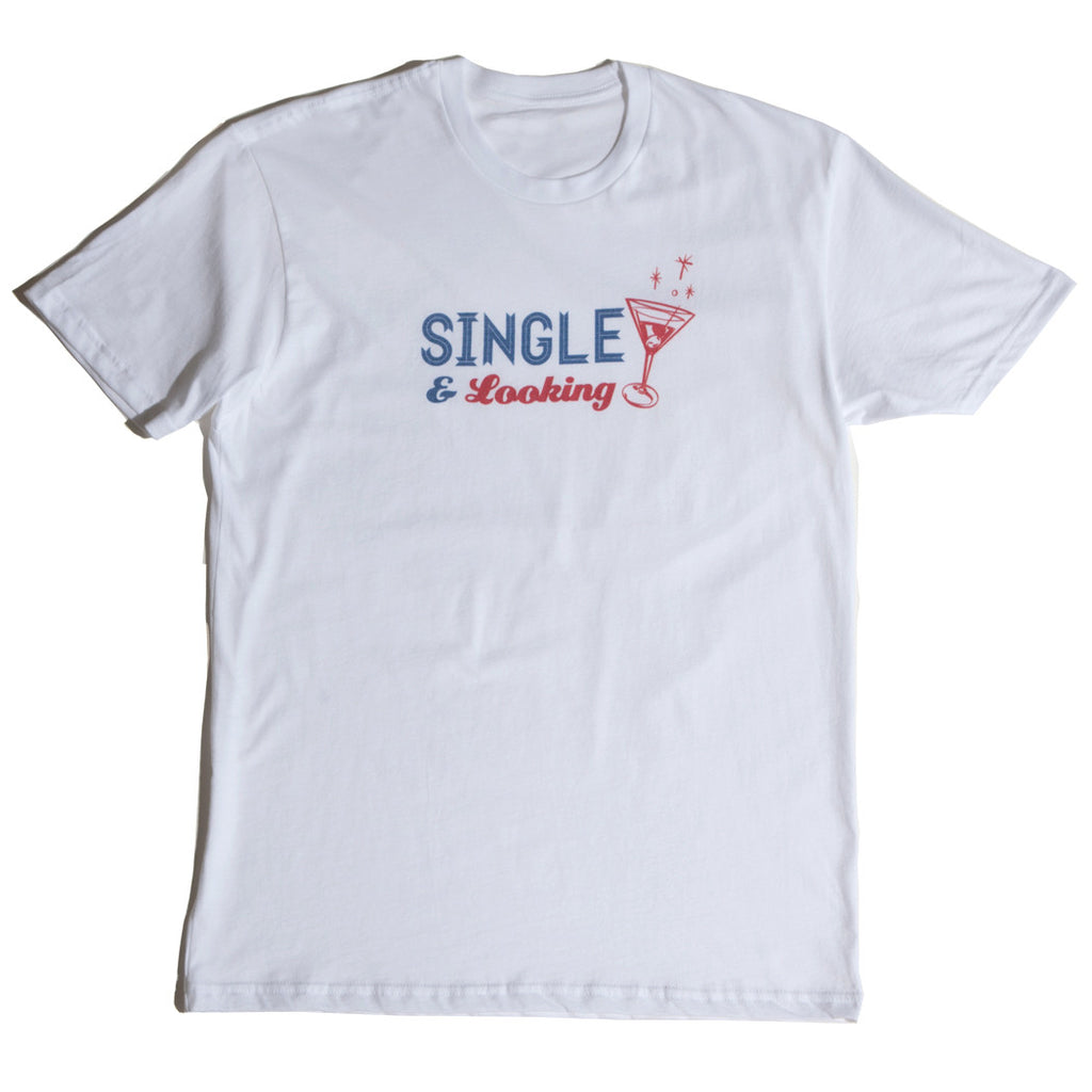 Men's Cocktail Tee - White