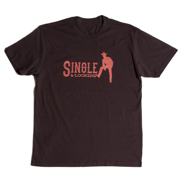 Men's Cowboy Tee - Chocolate