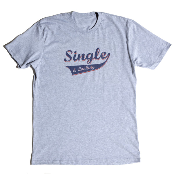 Men's Sporty Tee - Heather Grey