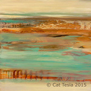 Distant Shores No. 3 by Cat Tesla, ©2015 Cat Tesla