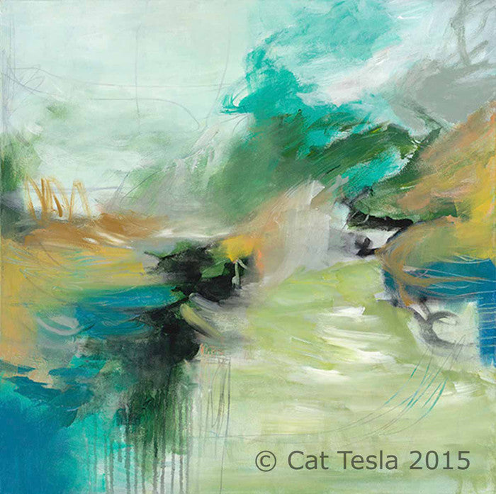 Morning Hike by Cat Tesla, ©2015 Cat Tesla