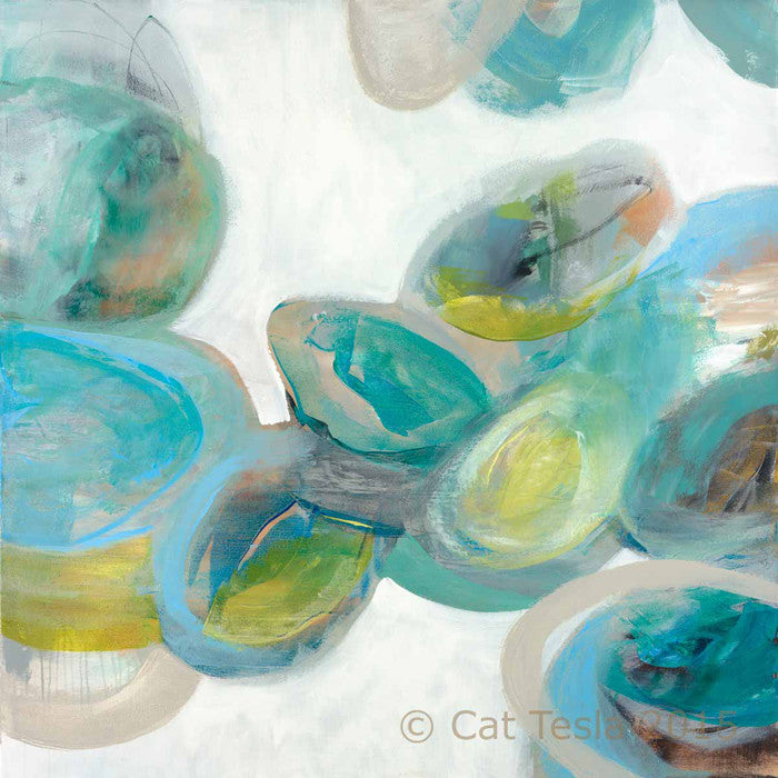 SeaGlass No. 1 by Cat Tesla, ©2015 Cat Tesla