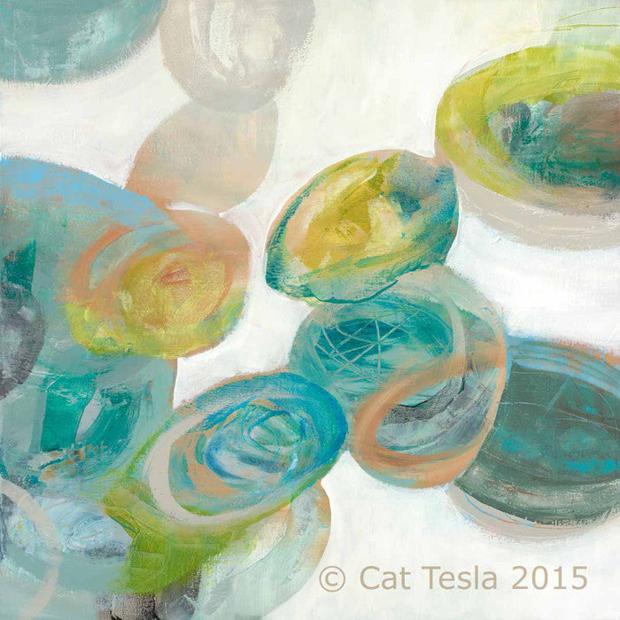 SeaGlass No. 2 by Cat Tesla, ©2015 Cat Tesla