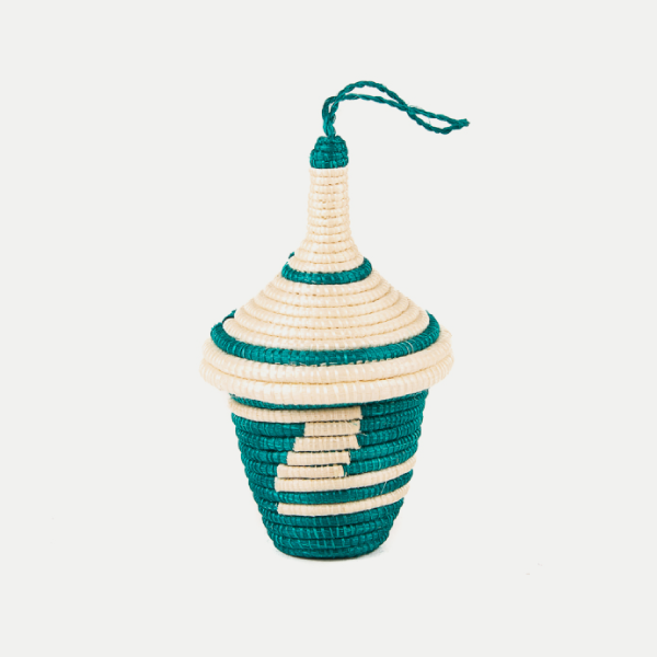 Agaseke Peace Basket: Green