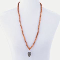Arrow Mala Necklace