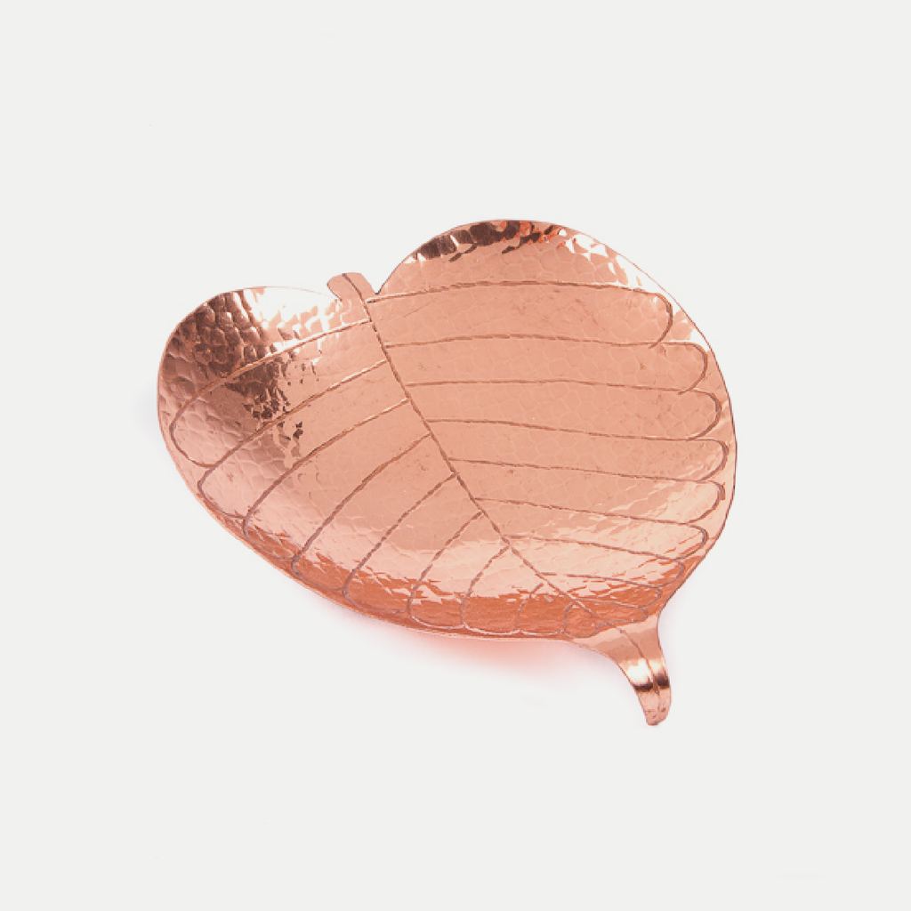 Copper Prayer Leaf