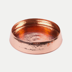 copper resonance floating dish: small
