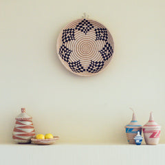Sisal Peace Basket: Adobe