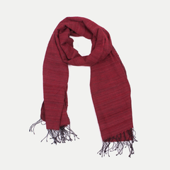 Joy Scarf: Burgundy Red