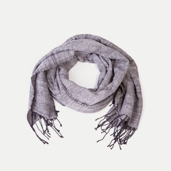 Joy Scarf: Metallic Grey
