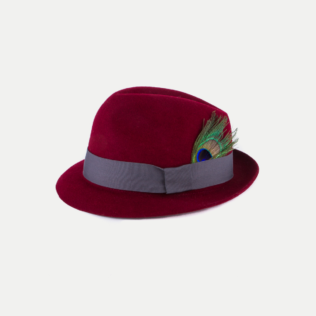 Lola Hat: Bordeaux