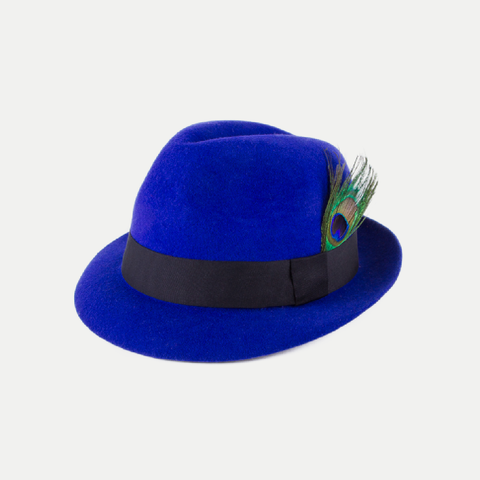 Lola Hat: Electric Blue