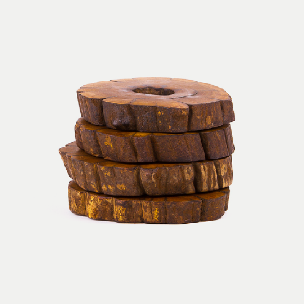 Raw Wood Coasters