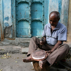 copper artisan in India