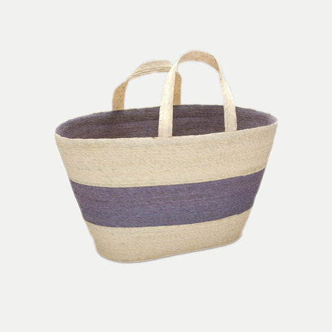 Market Tote Bag: Lavender (Large)