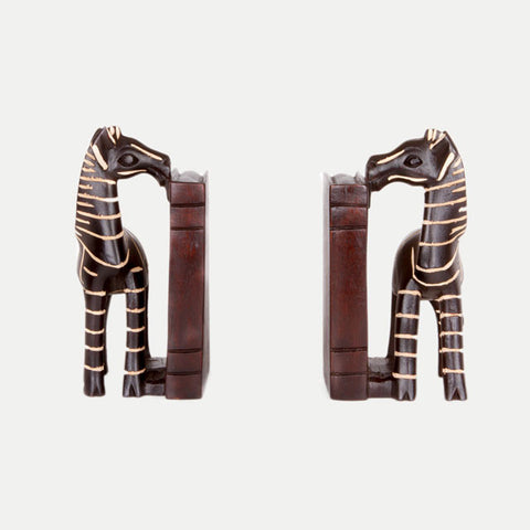 Zebra Bookends