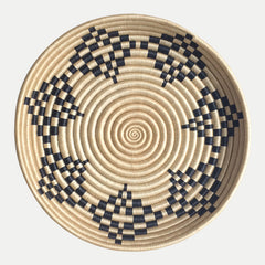 Woven Bowl: Constellation (Tea & Black)
