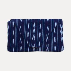 Envelope Clutch: California Indigo