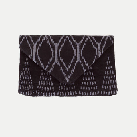 Envelope Clutch: Bali Black