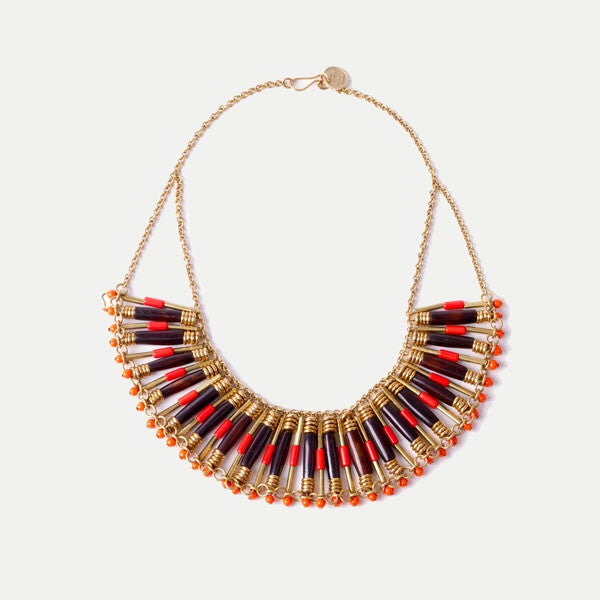 Sunset Bib Necklace