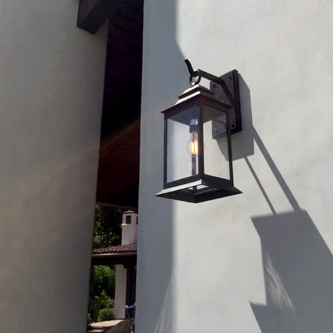 Miramar Arm Mount by DLG Lighting shown on the Pacific Palisade Project