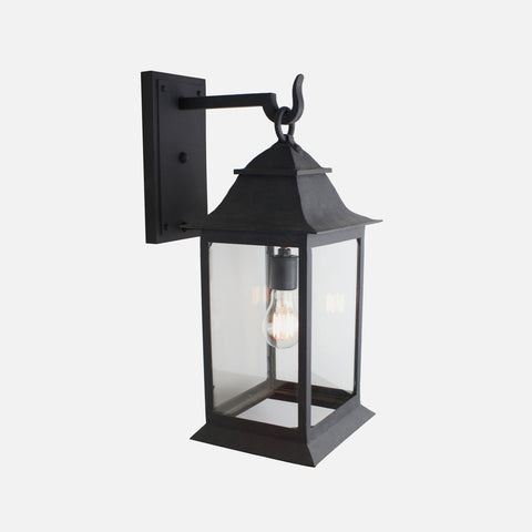 wrought iron miramar lantern hand crafted by DLG Lighting