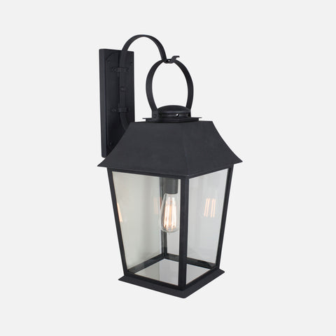 wrought iron exterior fixture by DLG Lighting