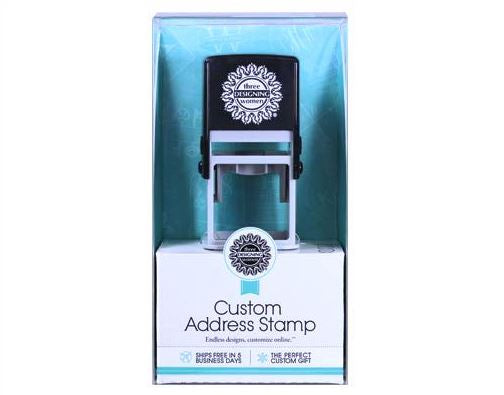Designer Address Stamp Gift Set