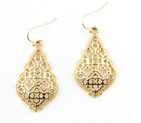 Gold Sunday Morning Earrings