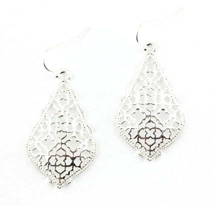 Silver Sunday Morning Earrings