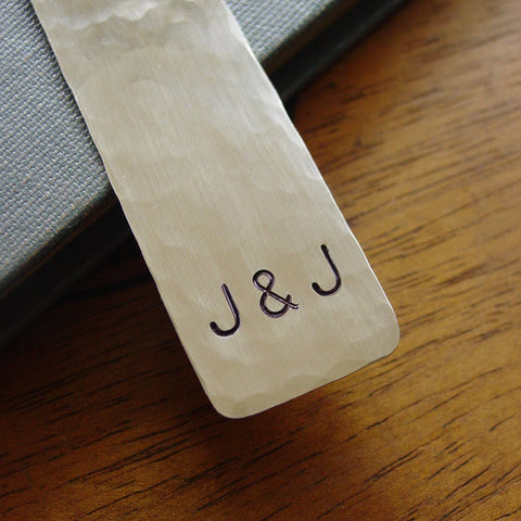 Personalized Couple Initials Bookmark | You & Me - Bookmark - [PearlieGirl]