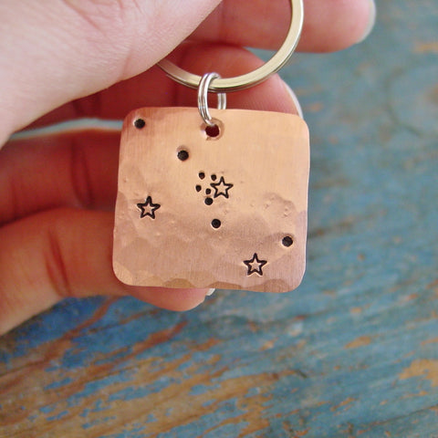 Taurus Zodiac Gift | Constellation Keychain | Star Sign | May Birthday Gift - Constellation Keychain - [PearlieGirl]