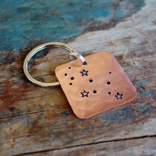 Virgo Zodiac Gift | Astrological Keychain | Star Sign | Birthday Gift - Constellation Keychain - [PearlieGirl]