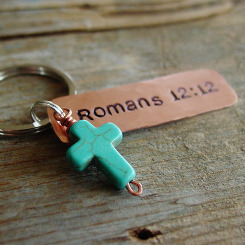 Bible Verse Keychain | Religious Gifts | Artisan Made - Keychain - [PearlieGirl]