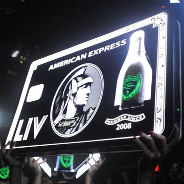 Amex Bottle Presenter