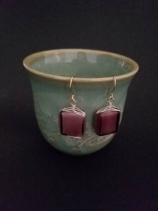 Purple Earrings - Luzjewelrydesign