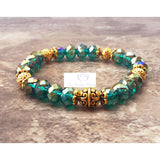 Green gold bracelet - Luzjewelrydesign