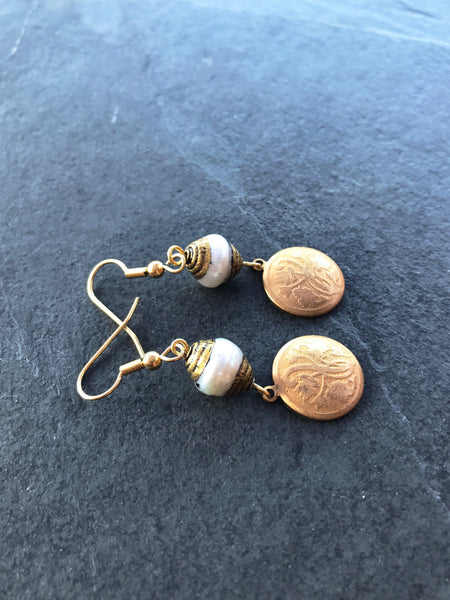Unique Earrings, Vintage Earrings - Luzjewelrydesign