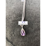 Lilac Amethyst Gemstone Necklace - Luzjewelrydesign