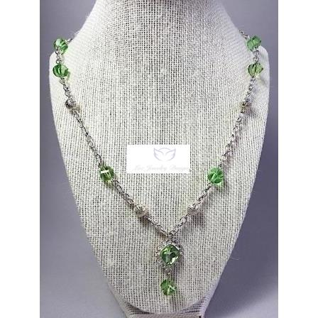 Green necklace - Luzjewelrydesign   - 1