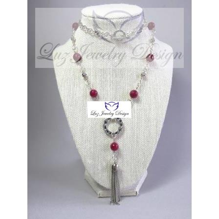 Carnelian Necklace - Luzjewelrydesign   - 1