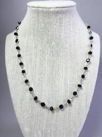 Swarovski necklace - Luzjewelrydesign   - 1