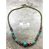 Boho necklace - Luzjewelrydesign   - 2