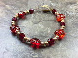 Red bracelet - Luzjewelrydesign   - 1