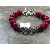 Red Ruby bracelet - Luzjewelrydesign   - 1