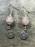 Rose Quartz earrings - Luzjewelrydesign   - 3