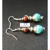 Bohemia Turquoise Earrings - Luzjewelrydesign   - 5