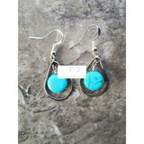 Turquoise earrings - Luzjewelrydesign   - 5