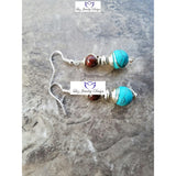 Bohemia Turquoise Earrings - Luzjewelrydesign   - 4